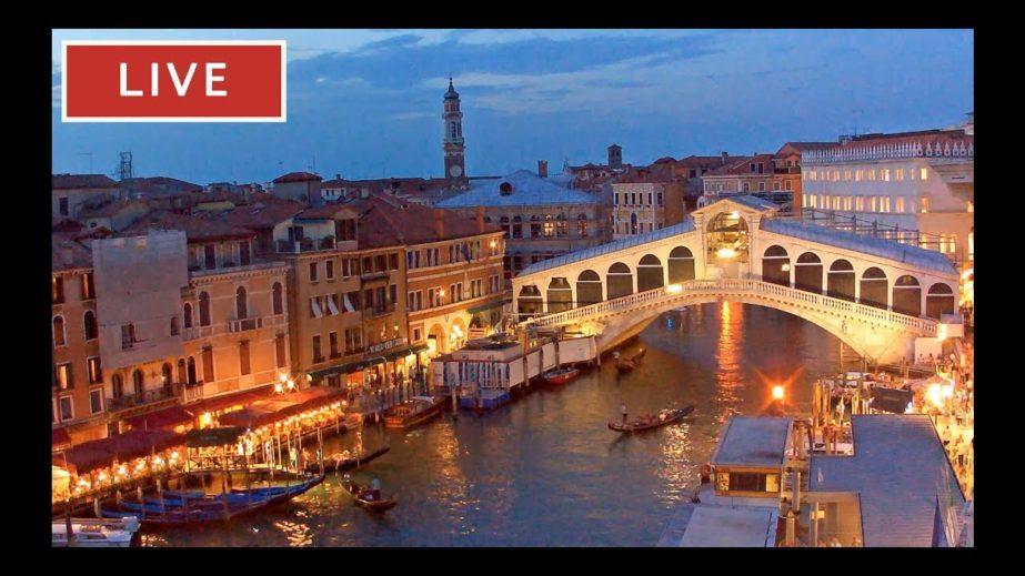 Rialto Bridge Venice Live Cam
