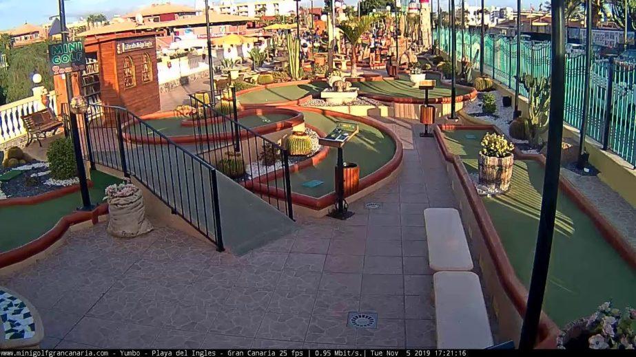 Minigolf Live Cam Las Palmas – Gran Canaria, Spain 🇪🇸
