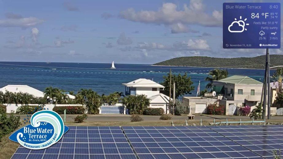 Blue Water Terrace Live cam – US Virgin Islands 🇻🇮