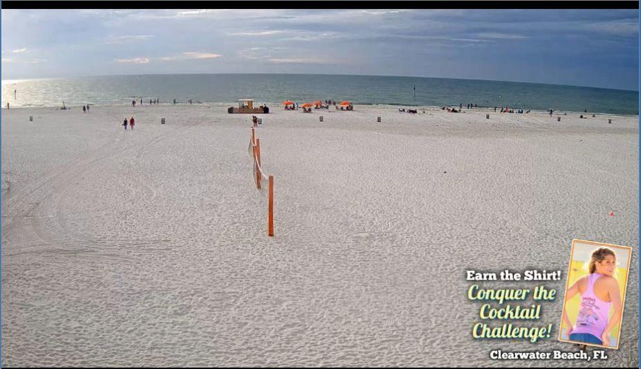Clearwater Beach Live cam, Florida USA 🇺🇸