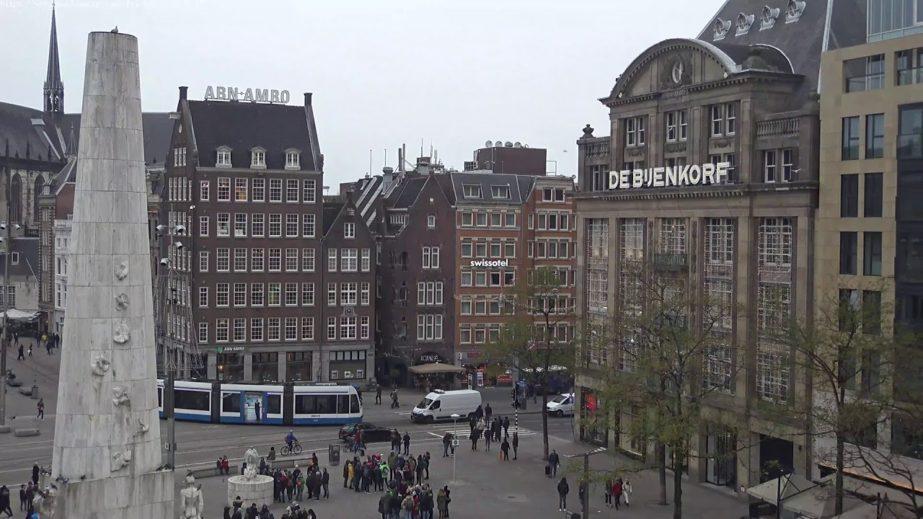 Dam Square Amsterdam Live cam