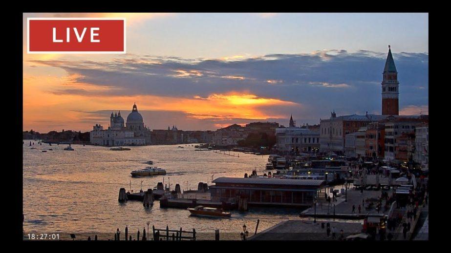 St. Mark's Basin Live Cam – Venice, Italy 🇮🇹