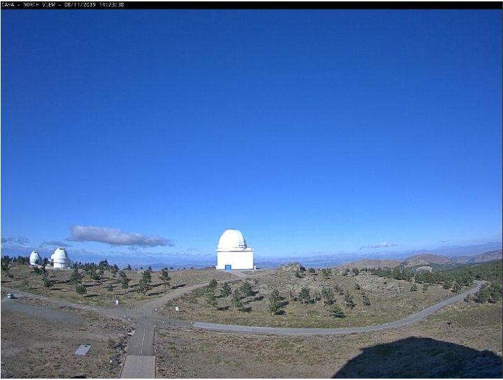 Calar Alto Observatory Live Cam – Gergal, Almeria, Spain 🇪🇸