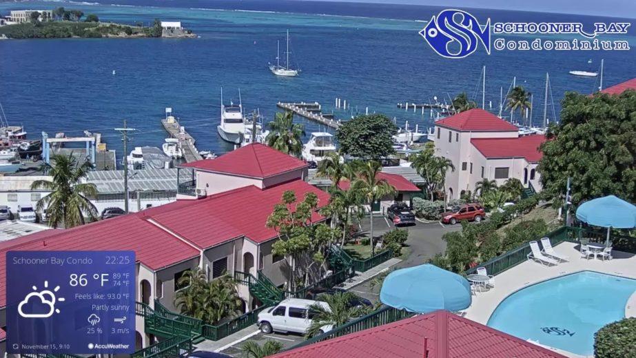 Schooner Bay Condominium Live cam, St. Croix - US Virgin islands 🇻🇮 5