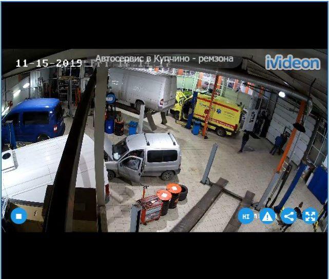 Car Repair Live cam – St Petersburg Russia 🇷🇺