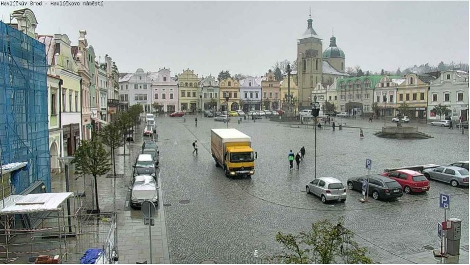 Main Square Live Cam, Kraj Vysocina, Havlickuv Brod - Czech Republic 🇨🇿 27