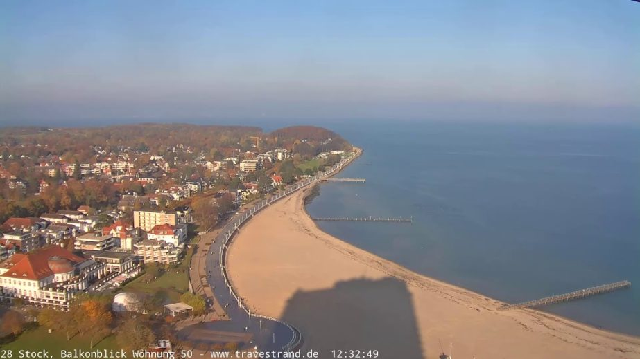 Beaches of Lübeck, Baltic Sea Live Cam - Germany 🇩🇪 15