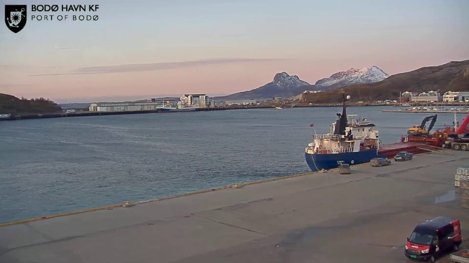 Bodø Port Live Cam - Norway 🇳🇴 4