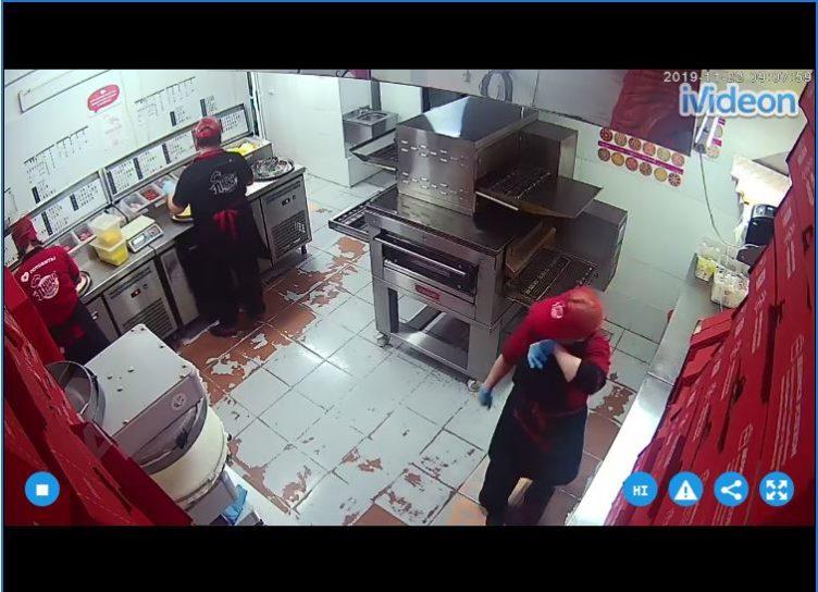 Pizza Kitchen Live Cam - Cheboksary, Russia 🇷🇺 9