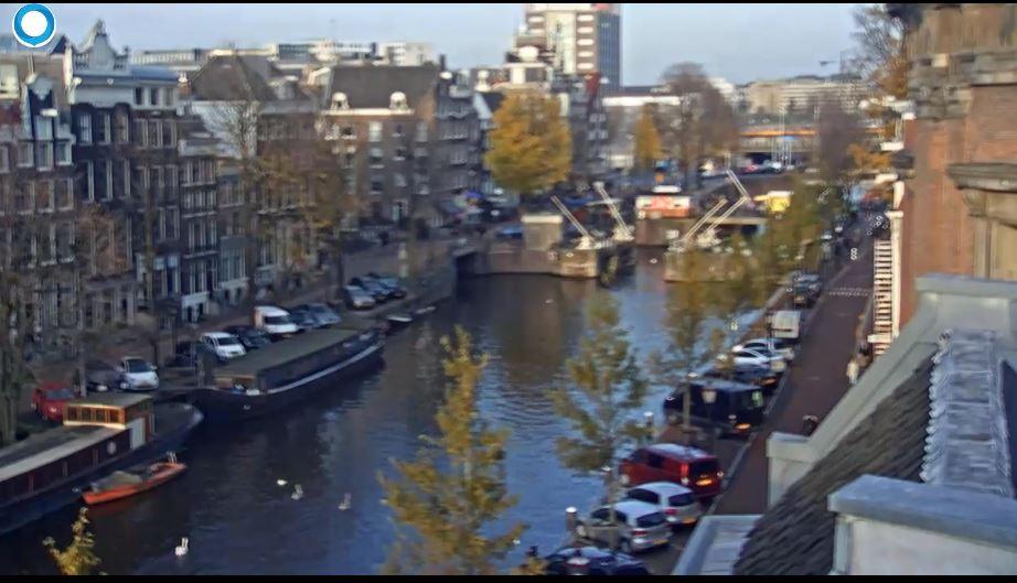 Live Cam Netherlands, Singel Hotel Amsterdam 25