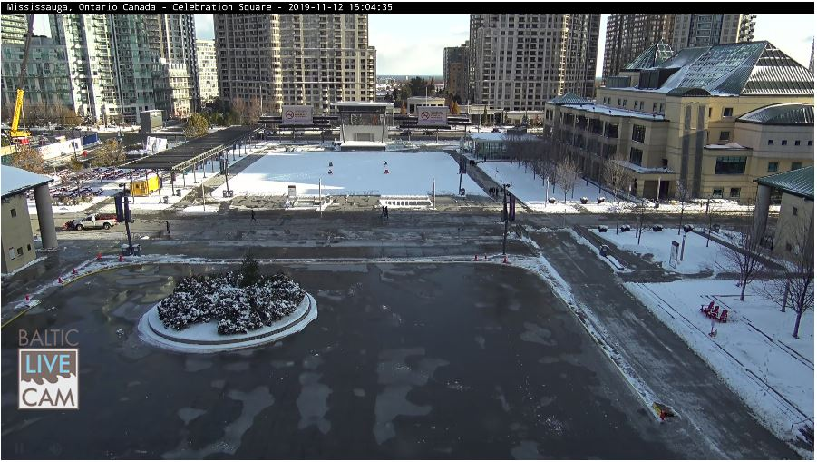 Live Cam Canada, Mississauga Celebration Square 9