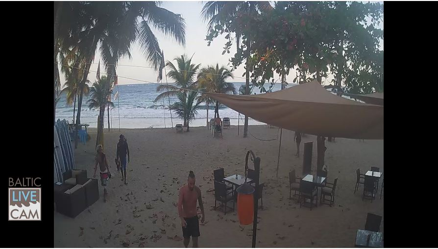 Live Cam Dominican Republic, Villa Taina Beach, Cabarete 1