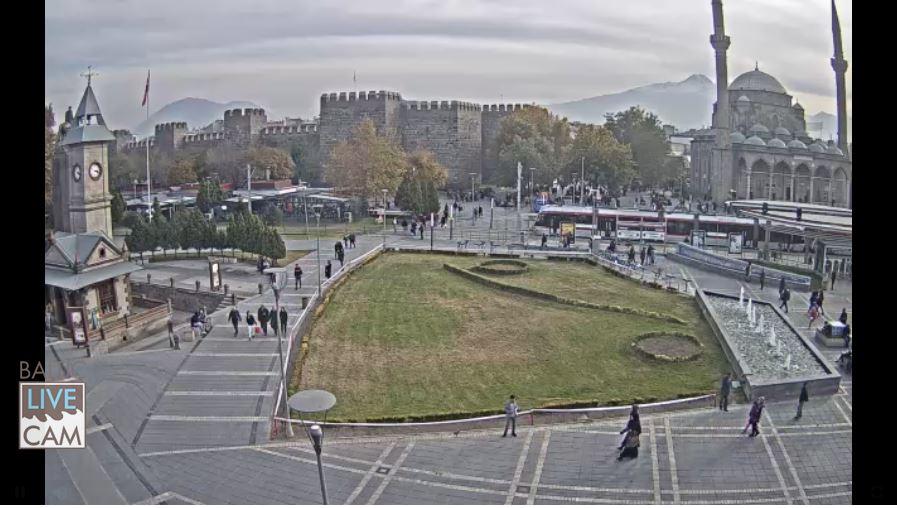 Live Cam Turkey, Hunat Hatun Complex, Kayseri 25