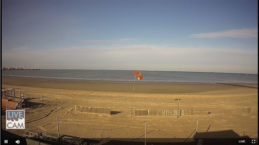 Live Cam Belgium, Knokke-Heist Beach 3