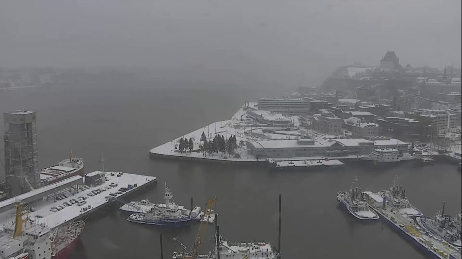 Live Cam Canada, Port of Quebec 6