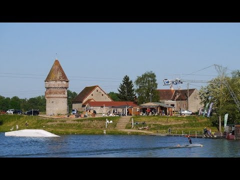 Live Cam France, Natural Wake Park, Paray-sous-Briailles 19