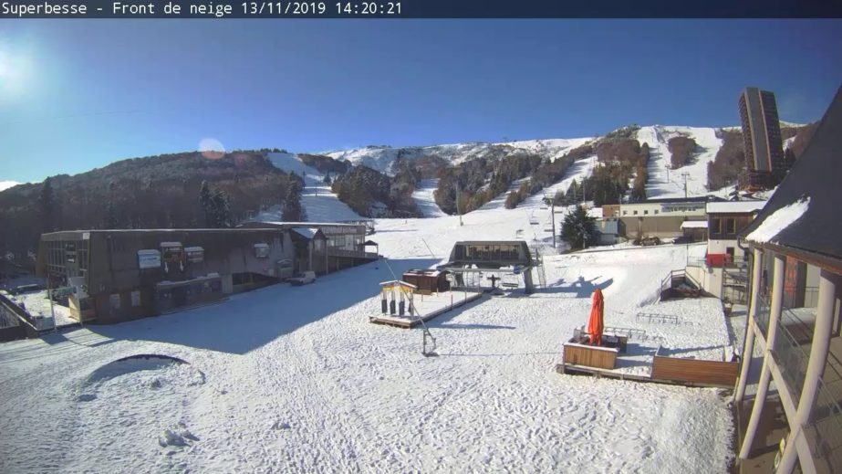 Live Cam France, Super Besse Ski Resort 25