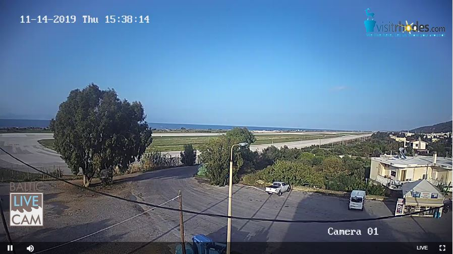Live Cam Greece, Rhodes, Diagoras Airport 2 🇬🇷 11