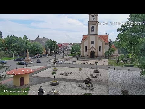 Live Cam Romania, Church Of St. Wendelin, Jimbolia 5