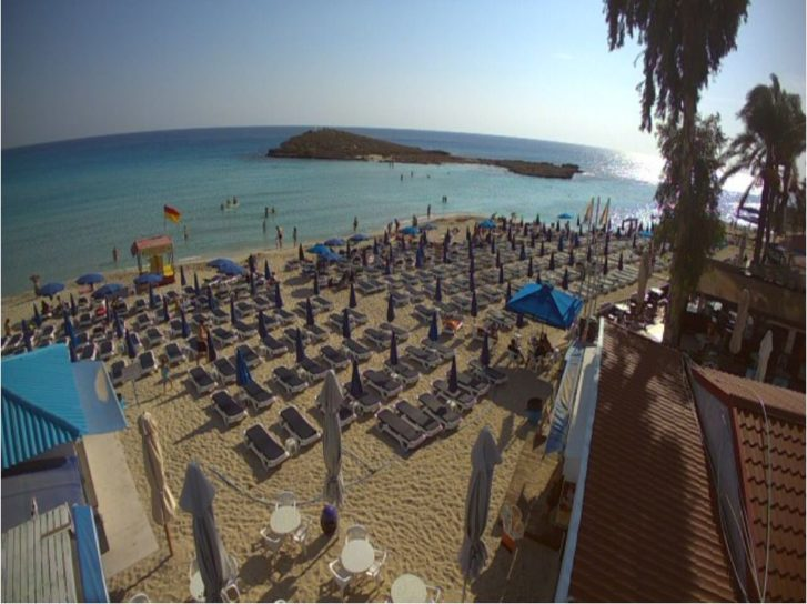Live Cam Nissi Beach Resort