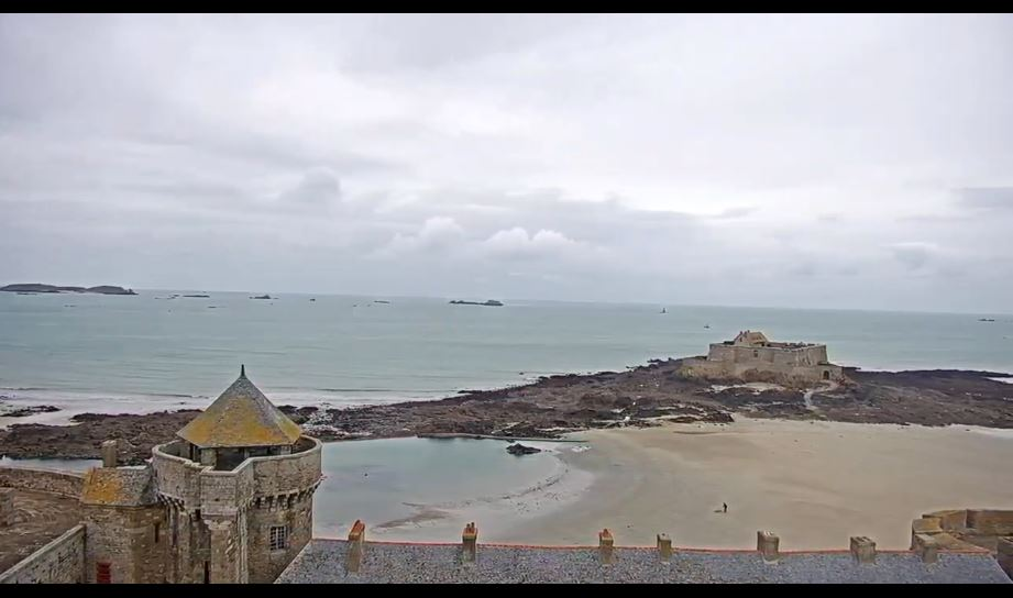 Live Cam France, Saint-Malo City, Brittany 13