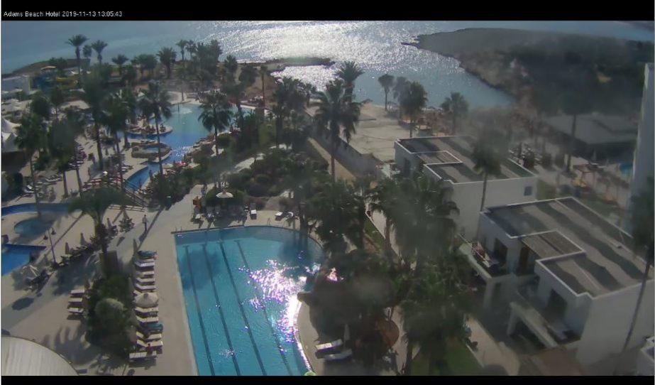 Live Cam Cyprus, Adams Beach Hotel, Ayia Napa 2