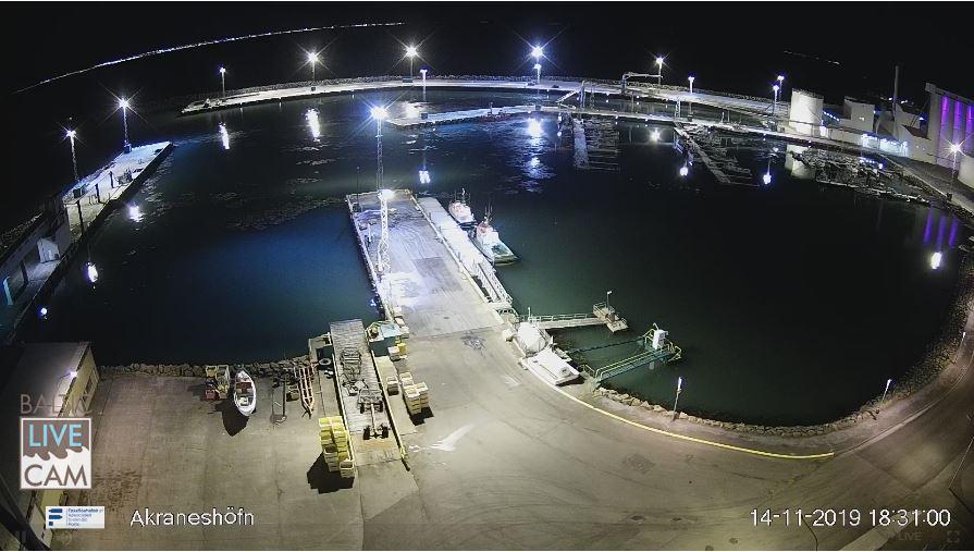 Live Cam Iceland, Akranes Port 4