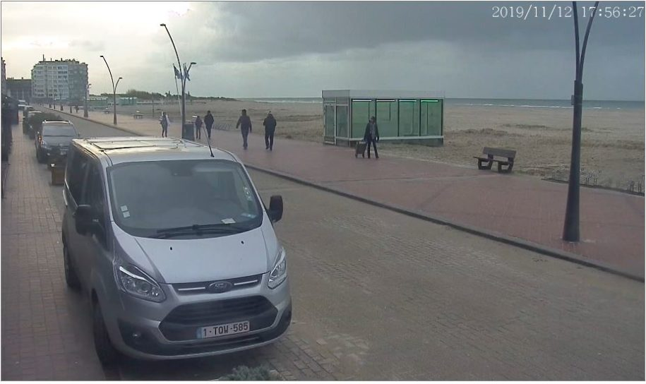 Live Cam Belgium, 't Zoet Genot Oostduinkerke Beach 2