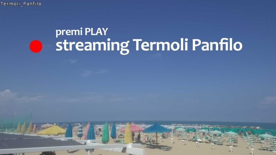 Live Cam Italy, Beach Lido Panfilo, Termoli 17