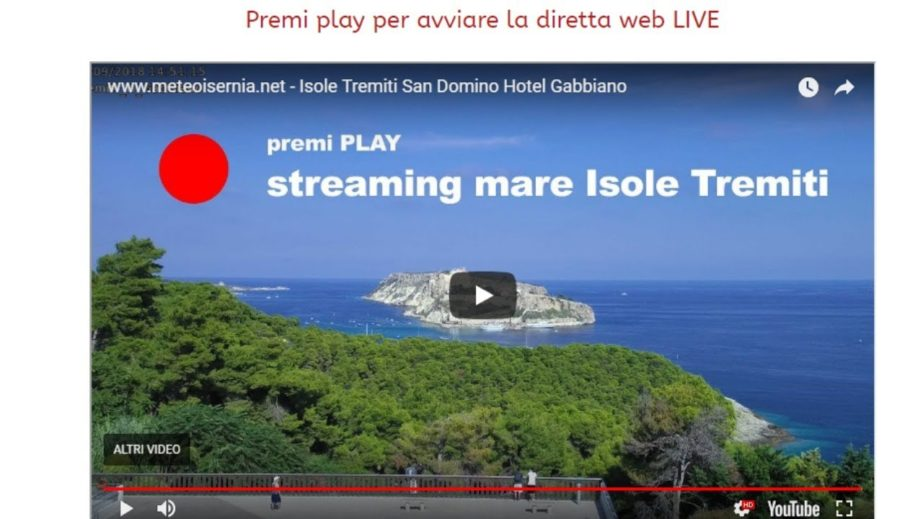 Live Cam Italy, San Domino, Isole Tremiti 9