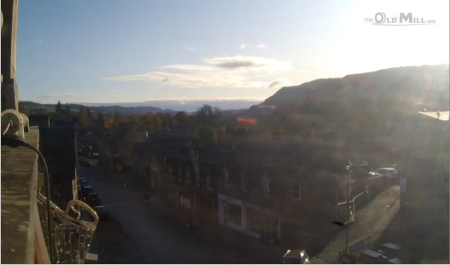 Live Cam Scotland, The Old Mill Inn, Pitlochry 4