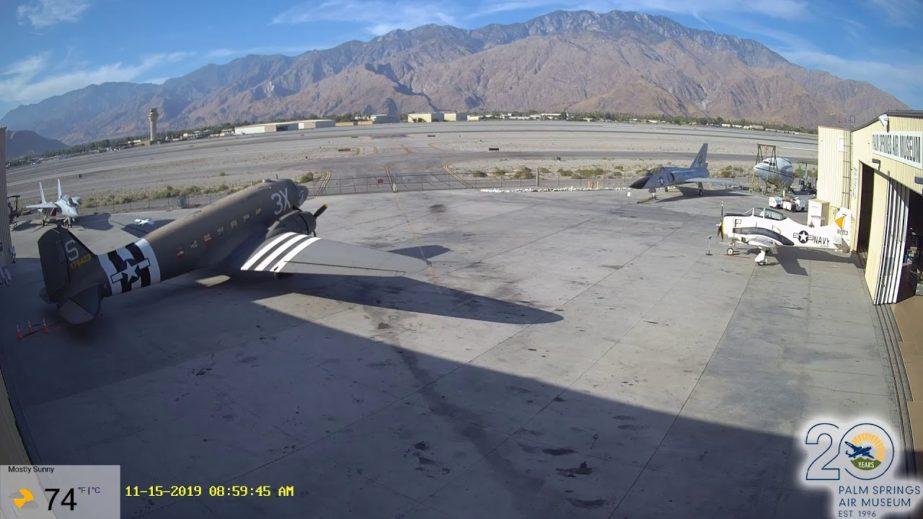 Live Cam USA, Palm Springs Air Museum, CA 3
