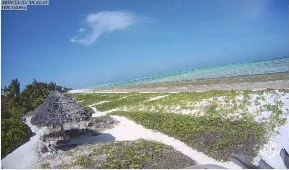 Live Cam Zanzibar, Paje Beach 1