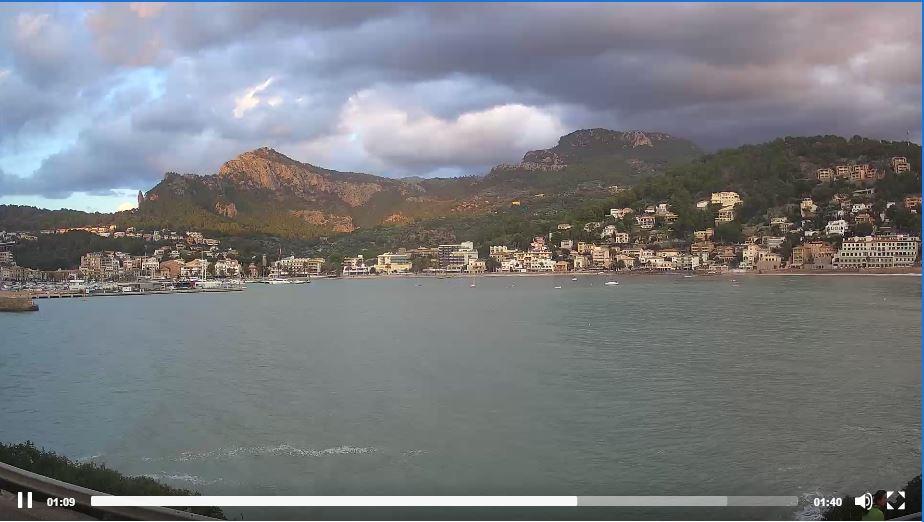 Live Cam Mallorca, Port de Sóller, Spain 21