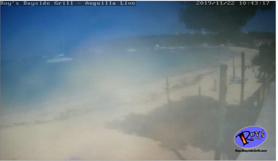 Live Cam Anguilla, Roy's Bayside Grill, Sandy Ground 1