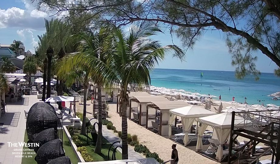 Live Cam Cayman Islands, Seven Mile Beach