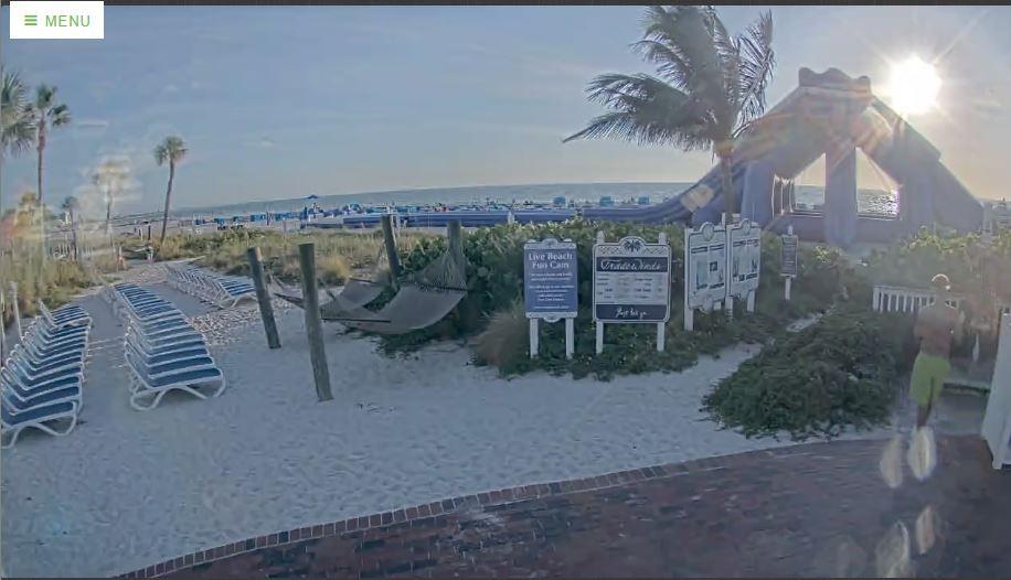 Live Cam USA, TradeWinds Island Grand Resort, FL