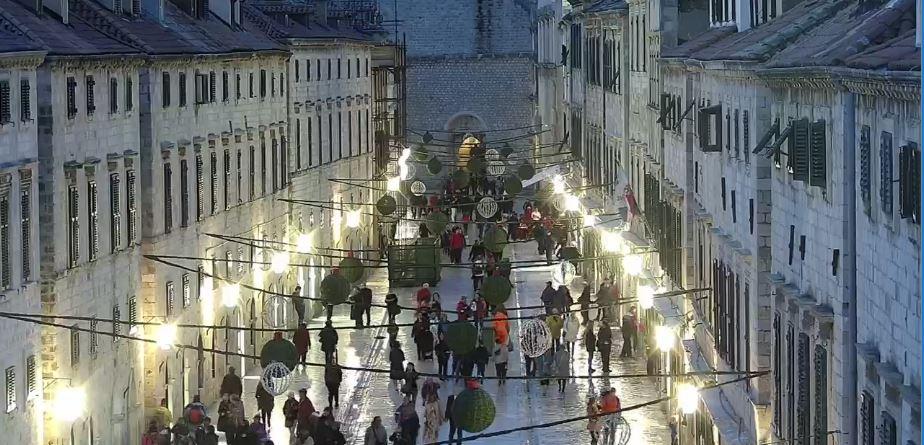 Live Cam Dubrovnik, Stradun Street, Croatia 11