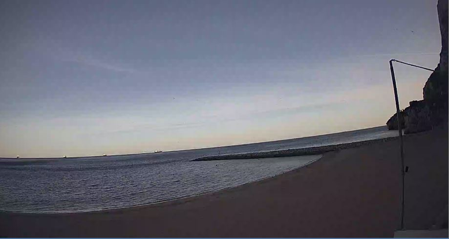 Live Cam Gibraltar, Sandy Bay Beach