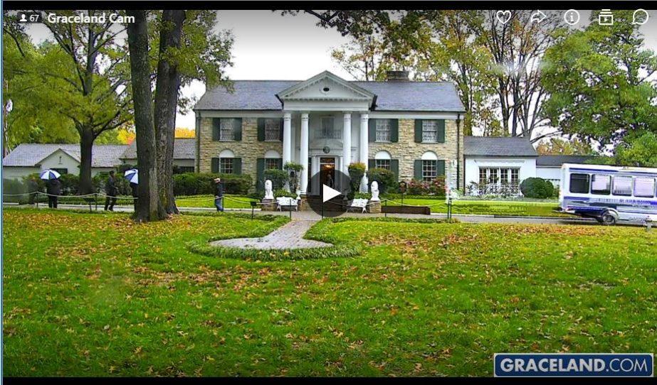 Live Cam Graceland, Elvis Presley, USA   Travelmouse Webcams