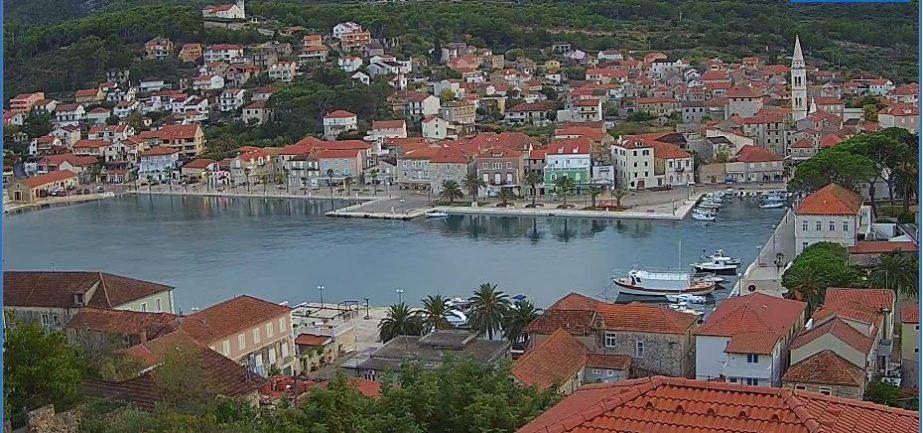 Live Cam Croatia, Jelsa Town, Hvar