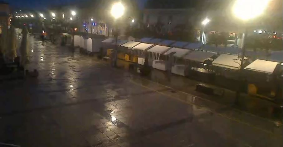 Live Cam Croatia, King Tomislav square, Daruvar