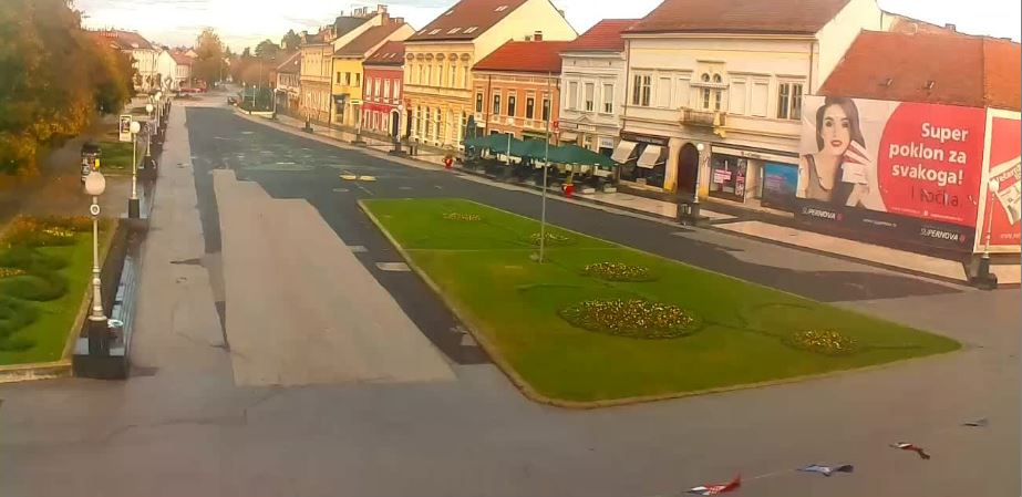Live Cam Croatia, Koprivnica City Square 23