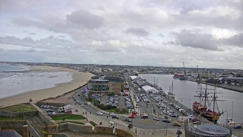 Live Cam France, Saint Malo Port Webcam 7