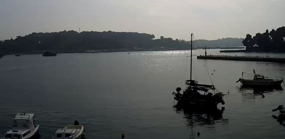 Live Cam Croatia, Rovinj Port Webcam