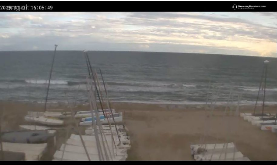 Live Cam Barcelona, El Prat beach, Spain 17