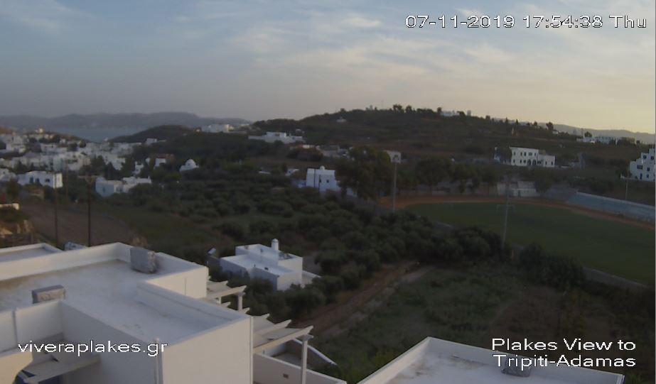 Live Cam Greece, Plaka Town, Milos