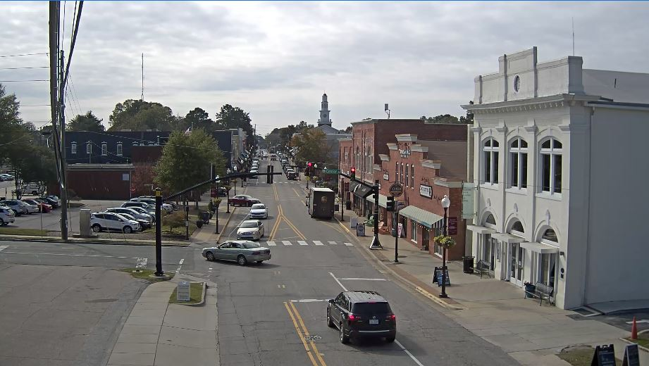 Live Cam USA, Downtown Apex Webcam, NC
