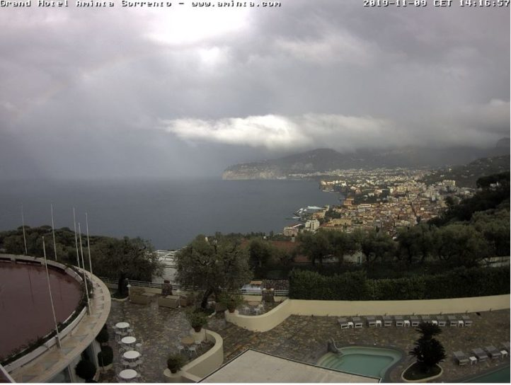 Live Cam Italy, Bay of Naples Webcam 3