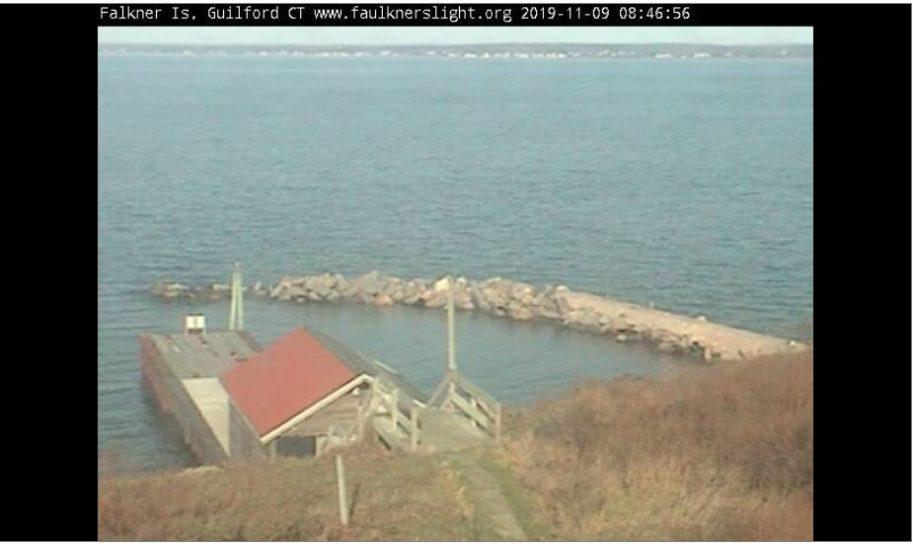 Live Cam USA, Faulkner's Island Lighthouse, CT